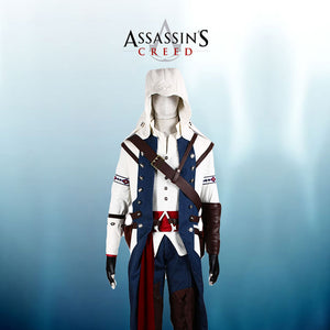 Assassin's Creed 3 Connor Render Cosplay Costume Custom Made Any Size
