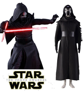 Star Wars The Force Awakens Kylo Ren Cosplay Costume with Mask Full Set Custom Made