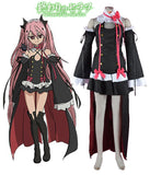Seraph of the End Vampire Krul Tepes Dress Cosplay Costume