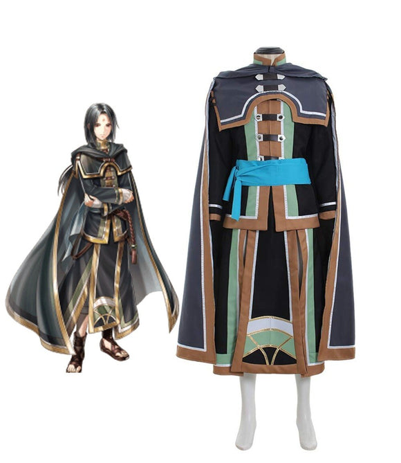 Fire Emblem: Path of Radiance Soren Cosplay Costume Full Set Custom Made Any Size