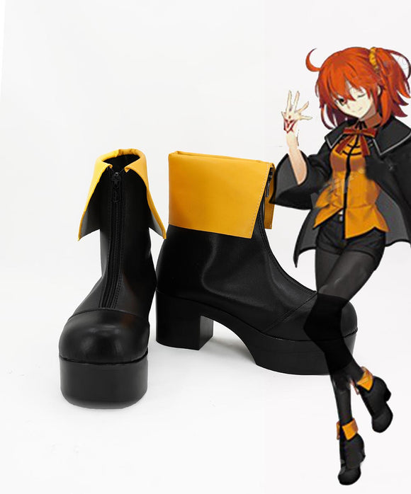Fate Grand Order FGO Grand Master Cosplay Boots High Heel Shoes Custom Made