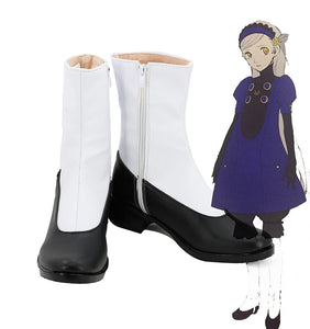 PA5 Persona 5 Lavenza Cosplay Boots White Shoes Custom Made