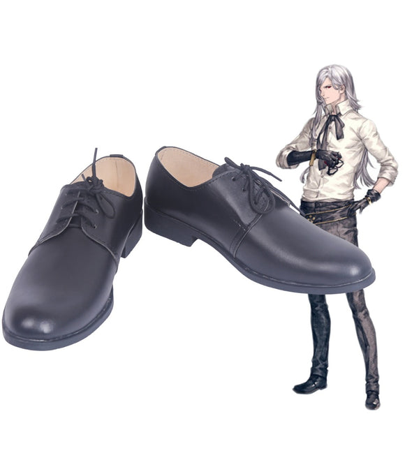 NieR Automata Adam Cosplay Shoes Leather Boots Custom Made Any Size