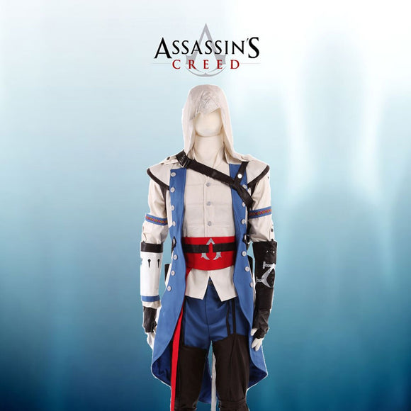 Assassin's Creed 3 Connor Cosplay Costume Custom Made Full Set