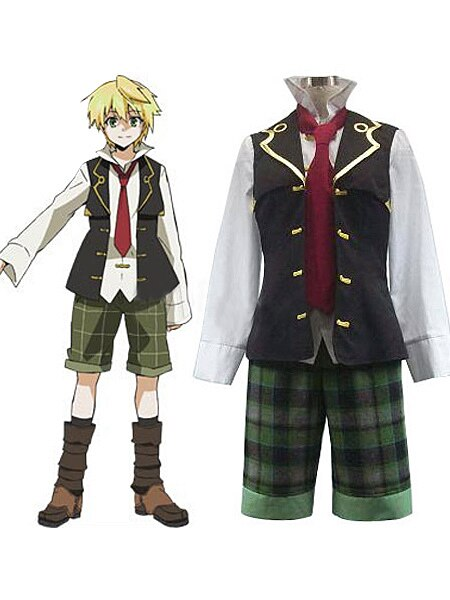 Pandora Hearts Oz Vessalius Cosplay Costume Custom Made