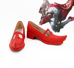 FF14 Final Fantasy XIV:A Realm Reborn Lise Cosplay Shoes Red Boots Custom Made