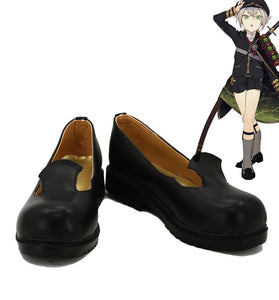 Touken Ranbu Online Hotarumaru Cosplay Shoes Black Boots Custom Made