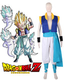 Dragon Ball Z Son Goten and Trunks Gotenks Fighting Uniform Cosplay Costume