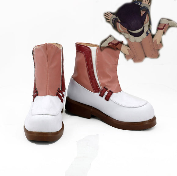 Final Fantasy FF14 Sailor Cosplay Boots Pink Shoes for Men and Women