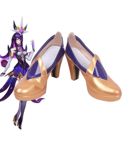 League of Legends LOL Syndra Star Guardian Cosplay Shoes Boots Custom Made