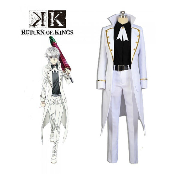 K Return of Kings Isana Yashiro Cosplay Costume Custom Made