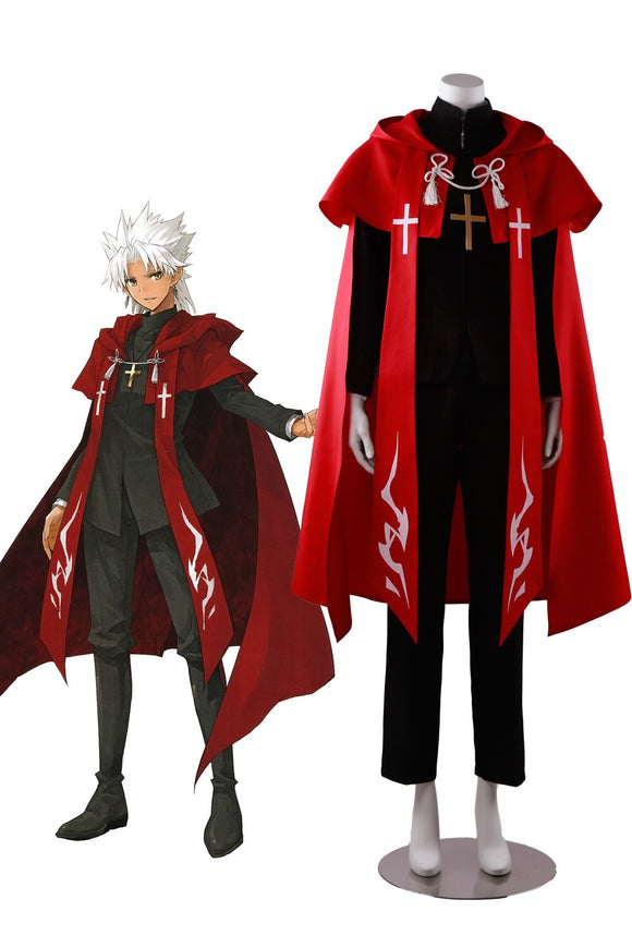 Fate Apocrypha Shirou Kotomine Cosplay Costume Custom Made