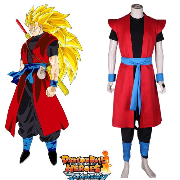 Super Dragon Ball Heroes Kakarot Zeno Son Goku Cosplay Costume Custom Made