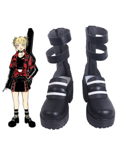 My Hero Academia Himiko Toga Cosplay Boots High Heel Shoes Boku no Hero Academia Cosplay Custom Made Unisex