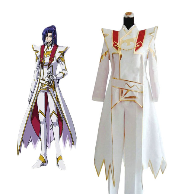 Code Geass: Akito the Exiled Shin Hyuga Shaing Cosplay Costume
