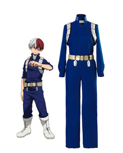 My Hero Academia 2 Shouto Todoroki Battle Cosplay Costume Boku No Hero Academia Todoroki Shouto Cosplay Costume