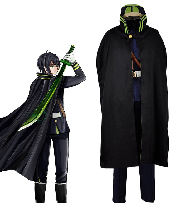 Seraph of the End Yuichiro Hyakuya Guren Ichinose Uniform Cosplay Costume