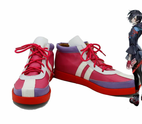Tokyo Ghoul Kirishima Touka Cosplay Shoes Red Boots Custom Made