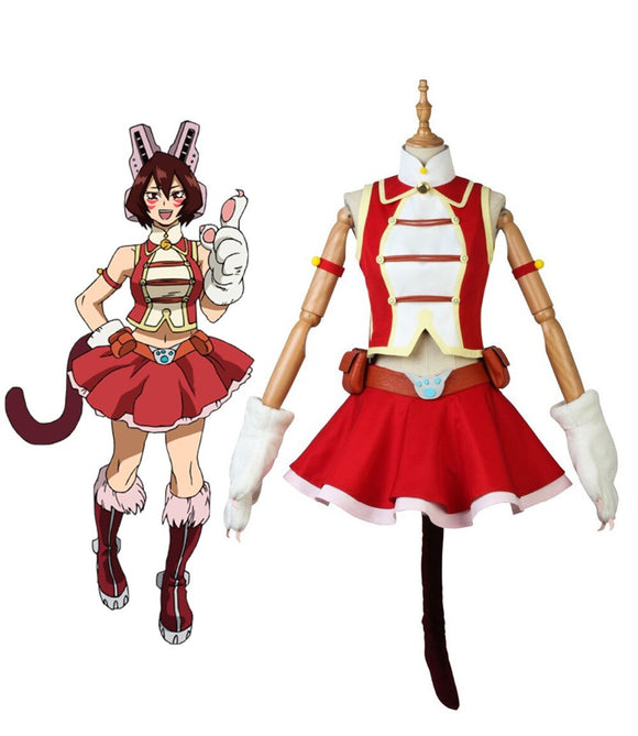 My Hero Academia Pussycats Mandalay Shino Sosaki Cosplay Costume Boku no Hero Academia Cosplay Custom Made
