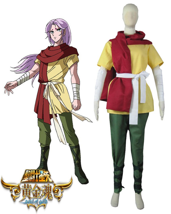 Saint Seiya:Soul of Gold Gold Saints Aries Mu Cosplay Costume