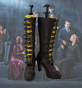 Fantastic Beasts and Where to Find Them Leta Lestrange Cosplay Boots High Heel Shoes Custom Made