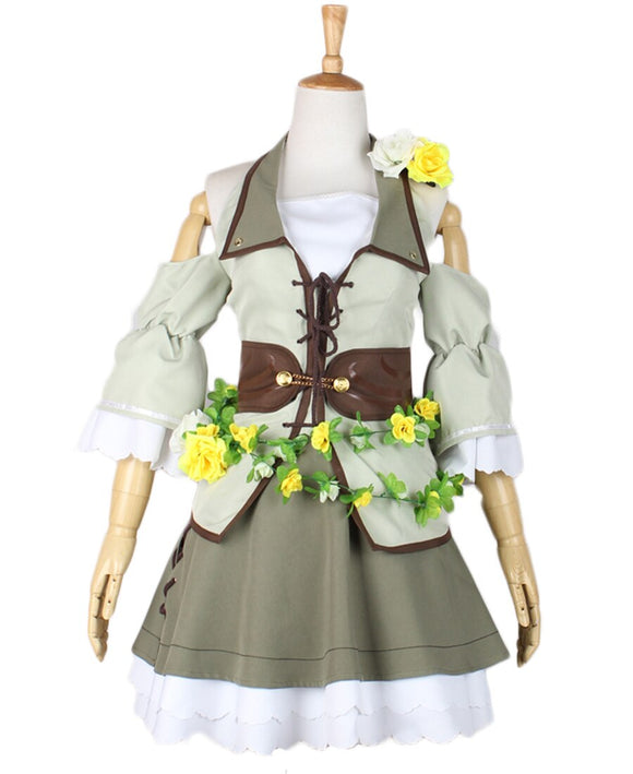 Love Live Flower Fairies All Members Dress Cosplay Costume Custom Made