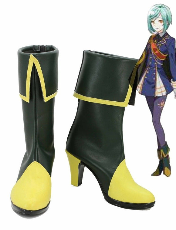 Touken Ranbu Online Ichigo Hitofuri Cosplay Boots High Heel Shoes Custom Made