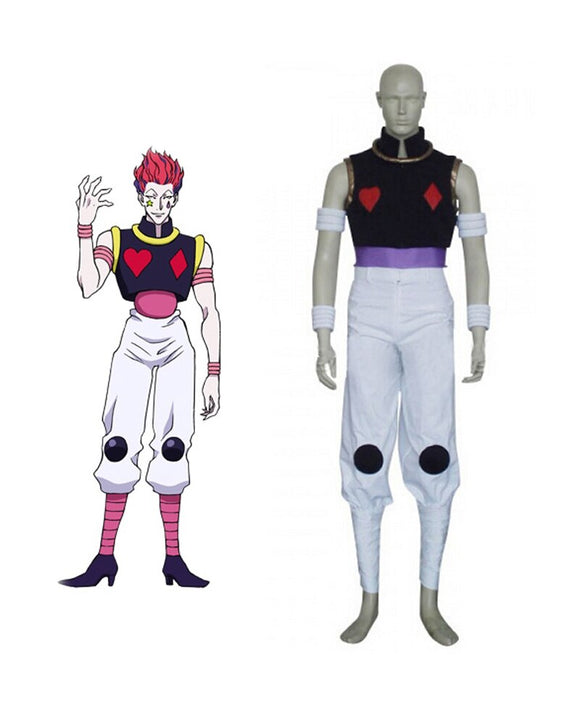 Hunter X Hunter Hisoka Cosplay Costume Custom Made