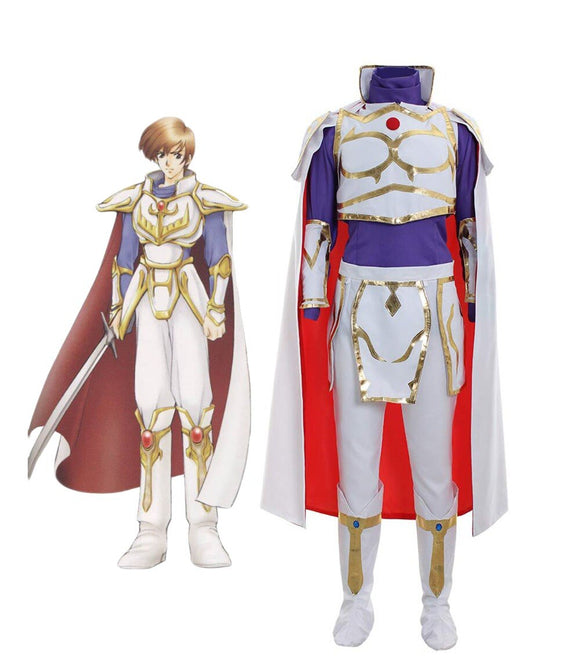 Fire Emblem: Thracia 776 Leif Cosplay Costume Full Set Custom Made Any Size
