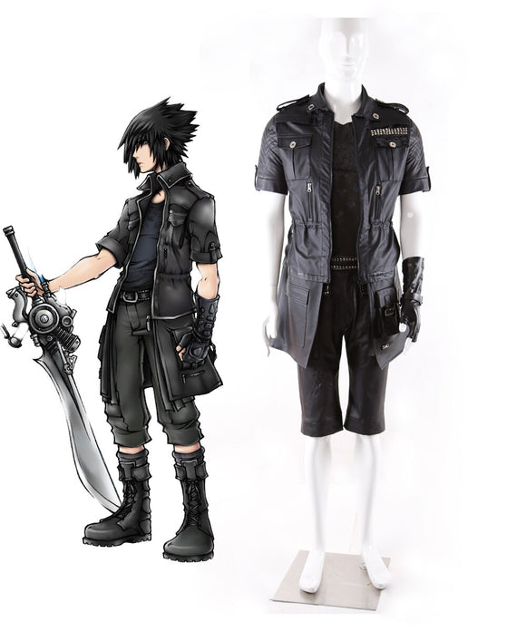 Final Fantasy XV Prologue Parting Ways Noctis Lucis Caelum Cosplay costume