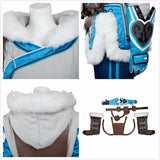 Overwatch OW Mei Cosplay Costume Full Set Custom Made