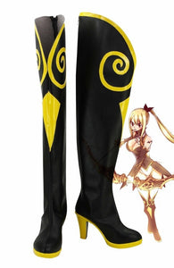 Fairy Tail Lucy Cosplay Boots Sagittarius High Heel Shoes Custom Made