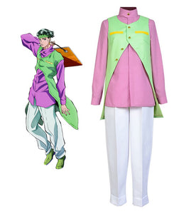 JoJo's Bizarre Adventure Rohan Kishibe Cosplay Costume Custom Made