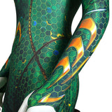 Aquaman Queen Mera Jumpsuit Cosplay Costume Female Cosplay Bodysuit Party Makeup Halloween Costumes