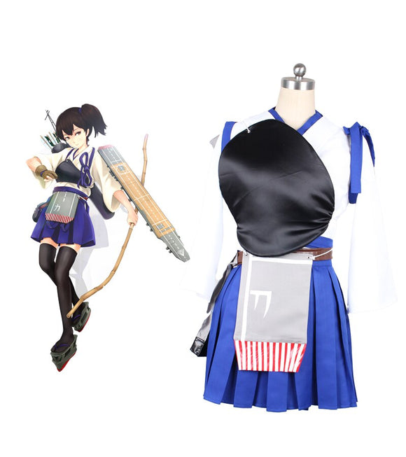 Kantai Collection Kancolle Kaga Cosplay Costume Custom Made