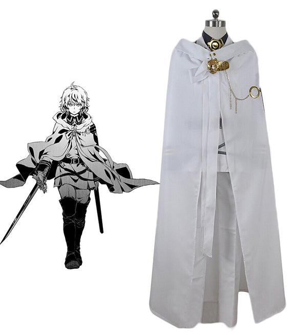 Seraph of the End Mikaela Hyakuya Vampire Cosplay Costume