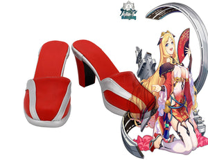 Azur Lane HMS Chaser D32 Cosplay Shoes High Heel Sandals Custom Made Halloween Party Cosplay