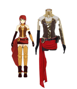 RWBY Pyrrha Nikos Cosplay Costume Custom Made Any Size for Boys Girls Halloween Party Cosplay