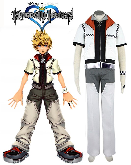 Kingdom Hearts Roxas Cosplay Costume Custom Made