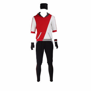 Pokemon Go Teams Trainer Red Uniform Cosplay Costume Custom Made