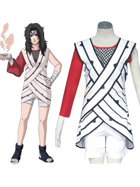 Naruto Yuuhi Kurenai Cosplay Costume Custom Made