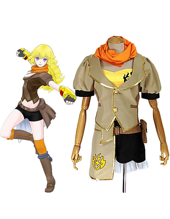 RWBY Yang Xiao Long Cosplay Costume Custom Made