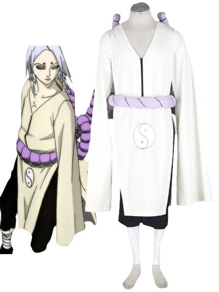 Naruto kaguya kimimaro Cosplay Costume Custom Made