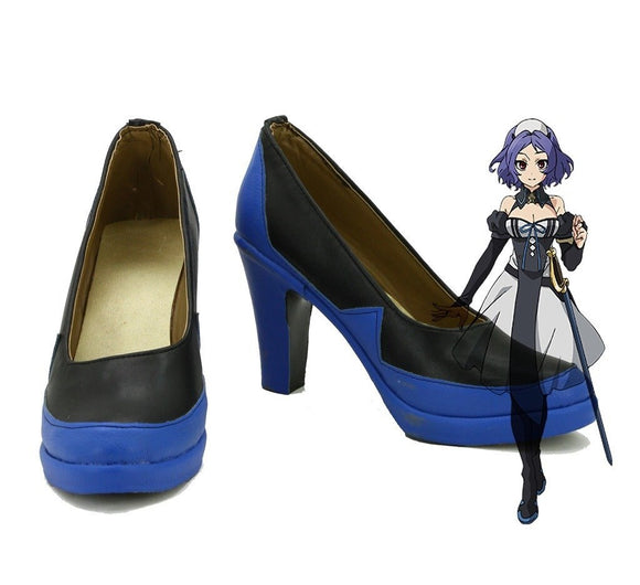 Seraph of the End Chess Belle Cosplay Shoes High Heel Boots Custom Made