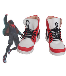Spider-Man Into the Spider-Verse Miles Morales Cosplay Boots Shoes Custom Made