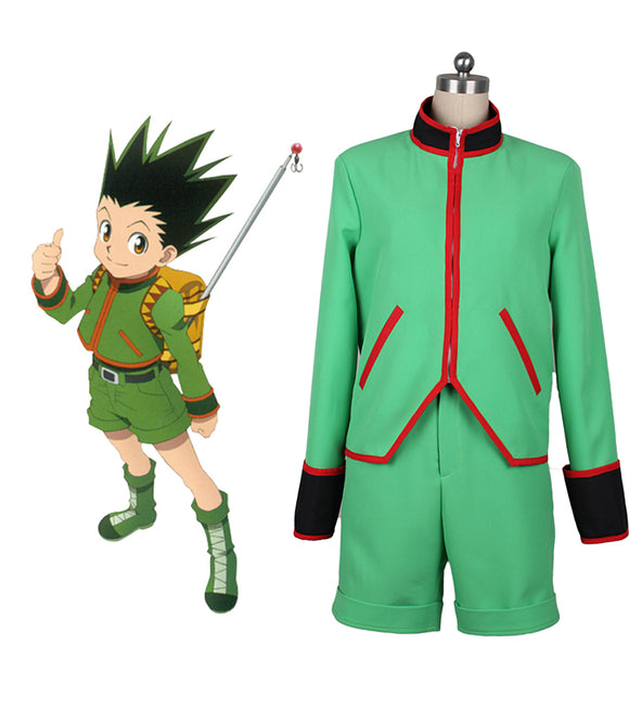 Hunter x Hunter Gon Freecss Cosplay Costume Custom Made