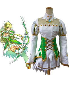 ELSWORD Grand Archer Dress Cosplay Costume Custom Made