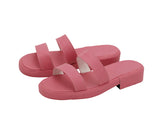 JoJo's Bizarre Adventure Sugimoto Reimi Cosplay Shoes Pink Sandals Custom Made Any Size