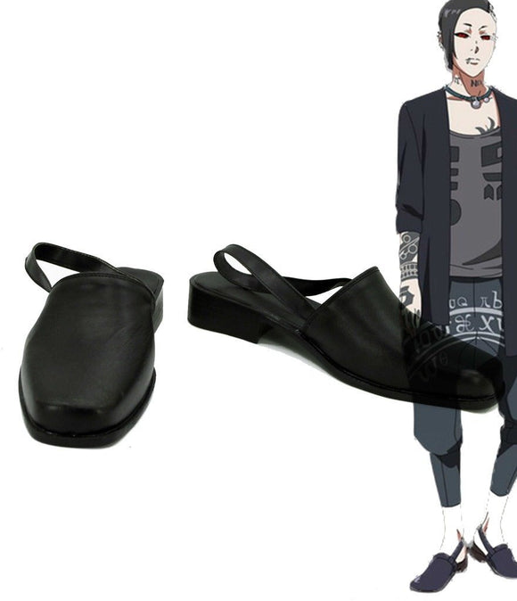 Tokyo Ghoul Uta Cosplay Shoes Black Sandals Custom Made