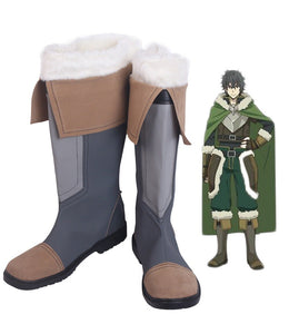 The Rising of the Shield Hero Naofumi Iwatani Cosplay Boots Leather Shoes Custom Made Any Size